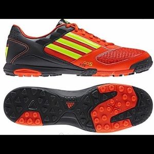 Adidas Mens Adi5 Soccer/Futsol Cleats orange/black